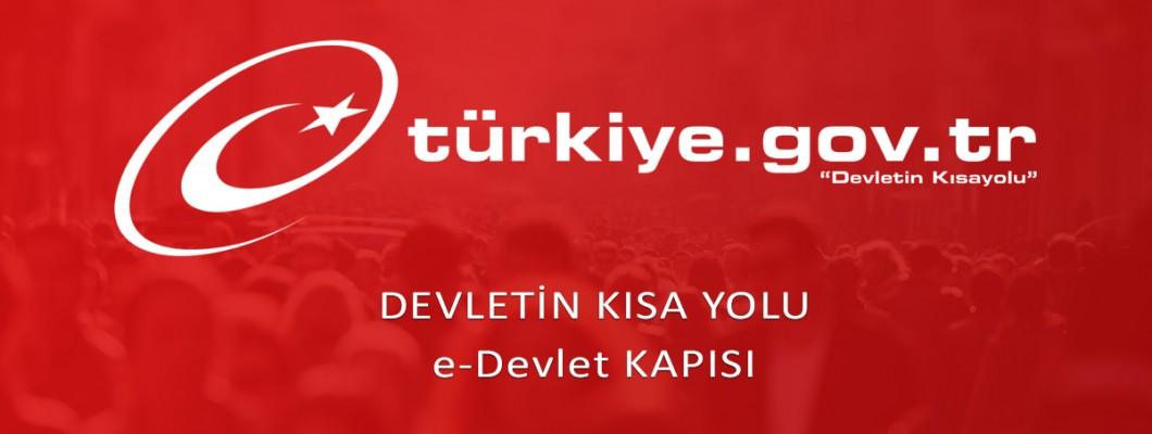 e-Devlet Turkiye.gov.tr onaylı sertifika