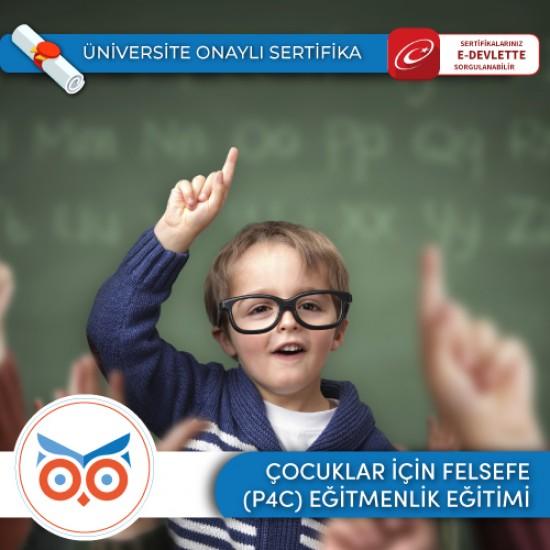 Çocuklar için Felsefe (P4C) Eğitmen Eğitimi Sertifika Programı