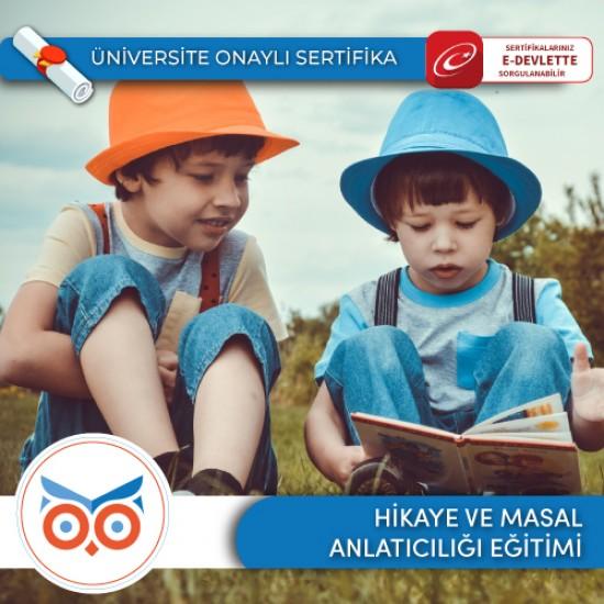 Hikaye ve Masal Anlatıcılığı Eğitmen Eğitimi Sertifika Programı
