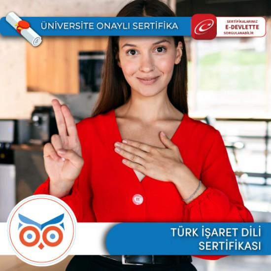 Türk İşaret Dili Eğitimi Sertifika Programı