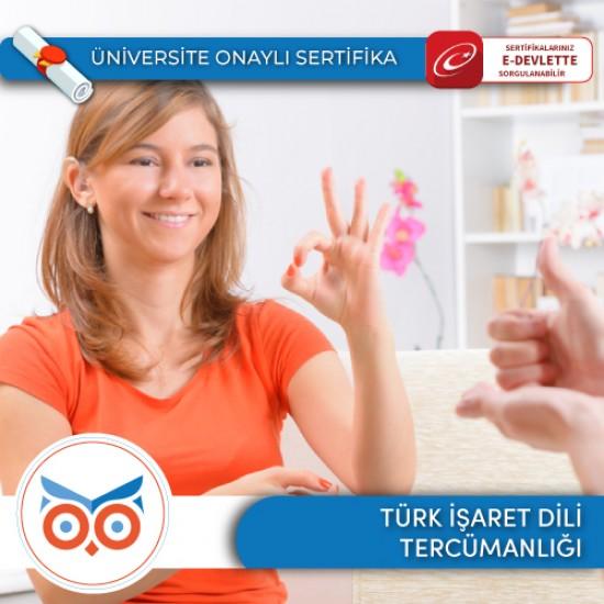 Türk İşaret Dili Tercümanlığı Sertifika Programı