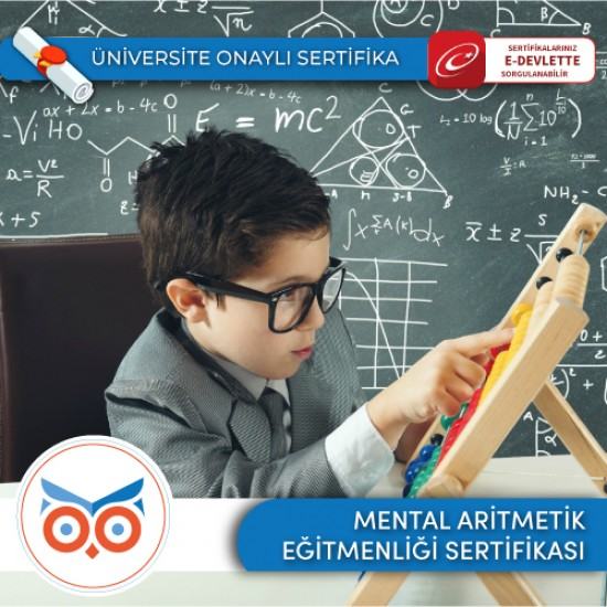 Mental Aritmetik Eğitmenlik Sertifika Programı