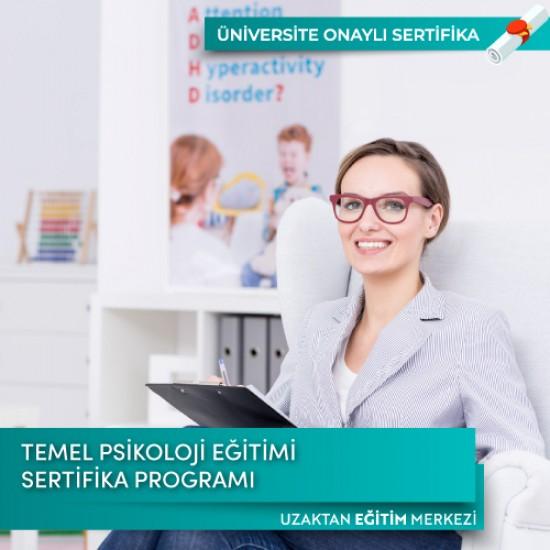 Temel Psikoloji Eğitimi Sertifika Programı