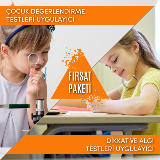 (Çocuk Değerlendirme Testleri & Dikkat Algı Testleri) Uygulayıcı Fırsat Paketi