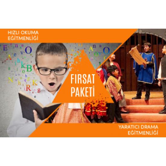 (Yaratıcı Drama & Hızlı Okuma) Eğitmenliği Fırsat Paketi