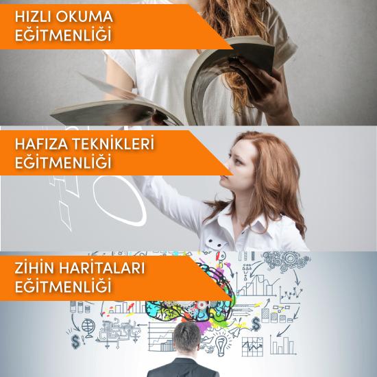 (Hızlı Okuma & Hafıza Teknikleri & Zihin Haritaları) Eğitmenliği Fırsat Paketi