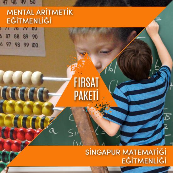 (Mental Aritmetik & Singapur Matematiği) Eğitmenliği Fırsat Paketi