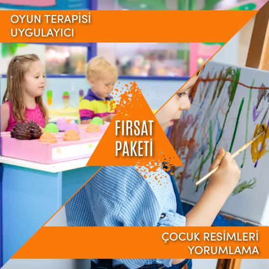 (Oyun Terapisi & Çocuk Resimleri Yorumlama) Uygulayıcı Fırsat Paketi